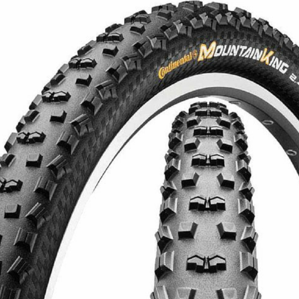 Велосипедна гума външна 27,5х2,20(54-584) Continental Mountain King без тел