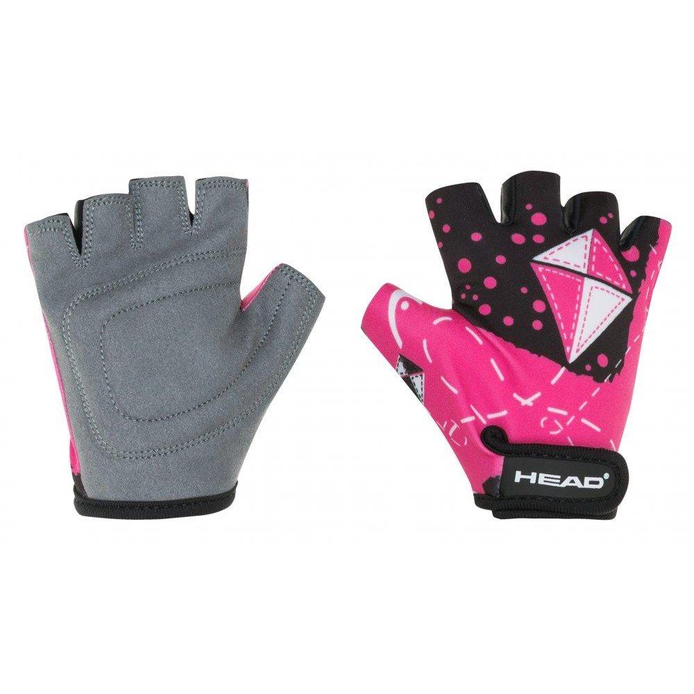 Ръкавици HEAD Kid 8820 - black/pink